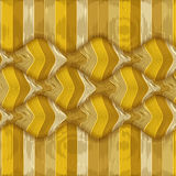 Illusion wave striped Stock Images