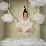 Illusion of weightlessness Stock Photos