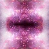 Illusione d'ardore unica artistica dell'estratto di bello fondo della galassia della nebulosa fotografia stock