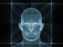 Illusione della mente Immagini Stock