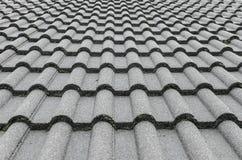Illusione delle mattonelle di tetto Immagini Stock Libere da Diritti