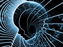 Illusione di anima e della mente Fotografie Stock Libere da Diritti