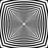 Illusione di prospettiva Fotografia Stock