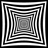 Illusione di prospettiva Immagini Stock