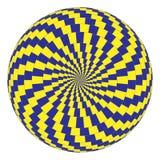 Illusione ottica Immagini Stock