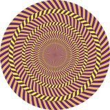 Illusione ottica Fotografia Stock