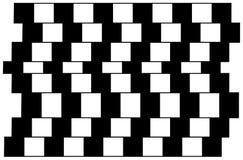 Illusione ottica 2 Fotografia Stock