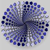 Illusione ottica Fotografie Stock Libere da Diritti