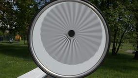 Illusione ottica video d archivio