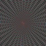 Illusione ottica di colore, carta da parati astratta Fotografia Stock Libera da Diritti