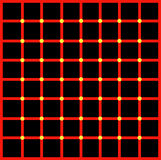 Illusione ottica per l'ipnoterapia Immagine Stock