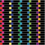 Illusione ottica per l'ipnoterapia Fotografie Stock