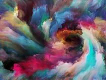 Illusioner av målarfärg Fotografering för Bildbyråer