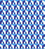 illusionmodell vektor illustrationer