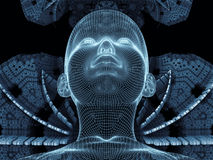 Illusions d'identité de Digital Photos libres de droits