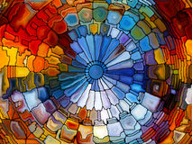 Illusions of Stained Glass Royalty Free Stock Photo