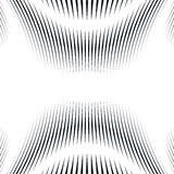 Illusive background with black chaotic lines, moire style. Contr Royalty Free Stock Image