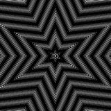 Illusive background with black chaotic lines, moire style. Stock Image