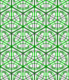 Illusive continuous colorful pattern, decorative abstract backgr Stock Photo