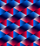 Illusive continuous colorful pattern, decorative abstract backgr Stock Image
