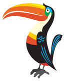 Illusration de Toucan Images libres de droits