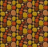 Illust de conception de papier peint de bannière de texture de jeu de mur en pierre bel illustration de vecteur