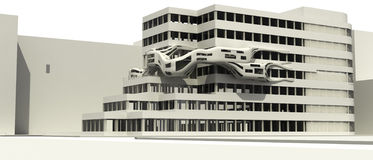 Illust futurista de la configuración Imagenes de archivo