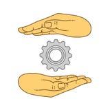 Illustartion вектора плоское для предпосылки Стоковая Фотография