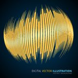 Illustartion of digital equalizer Royalty Free Stock Photos