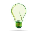 Illustartion verde do vetor do bulbo Foto de Stock
