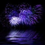 Illustation  - firework Stock Images