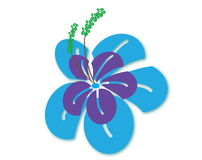 illustraion цветка Стоковое фото RF