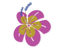 illustraion цветка Стоковые Изображения