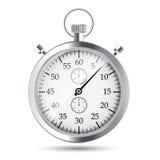Illustraion di vettore del cronometro Fotografia Stock Libera da Diritti