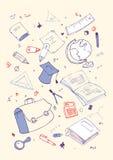 Illustraition of school subjects