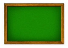 Illustrate of blank green board Royalty Free Stock Photos