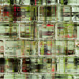 Illustrated abstract glass background Royalty Free Stock Image