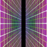 Illustrated abstract glass background Royalty Free Stock Photo