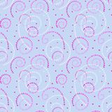 Illustrated abstract seamless background with spirals Royalty Free Stock Photo