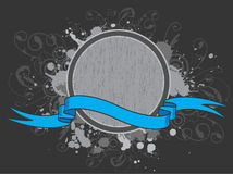 Illustrated award and ribbon royalty free stock image
