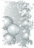 Illustrated Background Christm Royalty Free Stock Photos