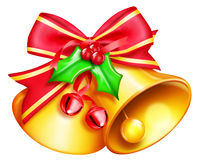 Illustrated Christmas Bells Royalty Free Stock Photography