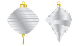 Illustrated Christmas Ornaments Royalty Free Stock Image