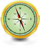 Illustrated compass Stock Photos