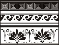 Illustrated decorative designs Royalty Free Stock Photos