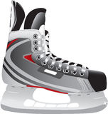Illustrated ice hockey skate. Isolated against a white background Royalty Free Stock Photos