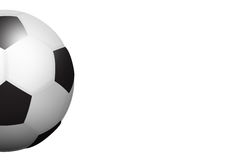 Illustrated Isolated Football Ball Royalty Free Stock Photo