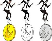 Euro problem Stock Image