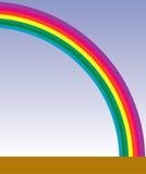 Illustrated rainbow Royalty Free Stock Photo