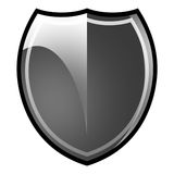 Illustrated shield Royalty Free Stock Photos